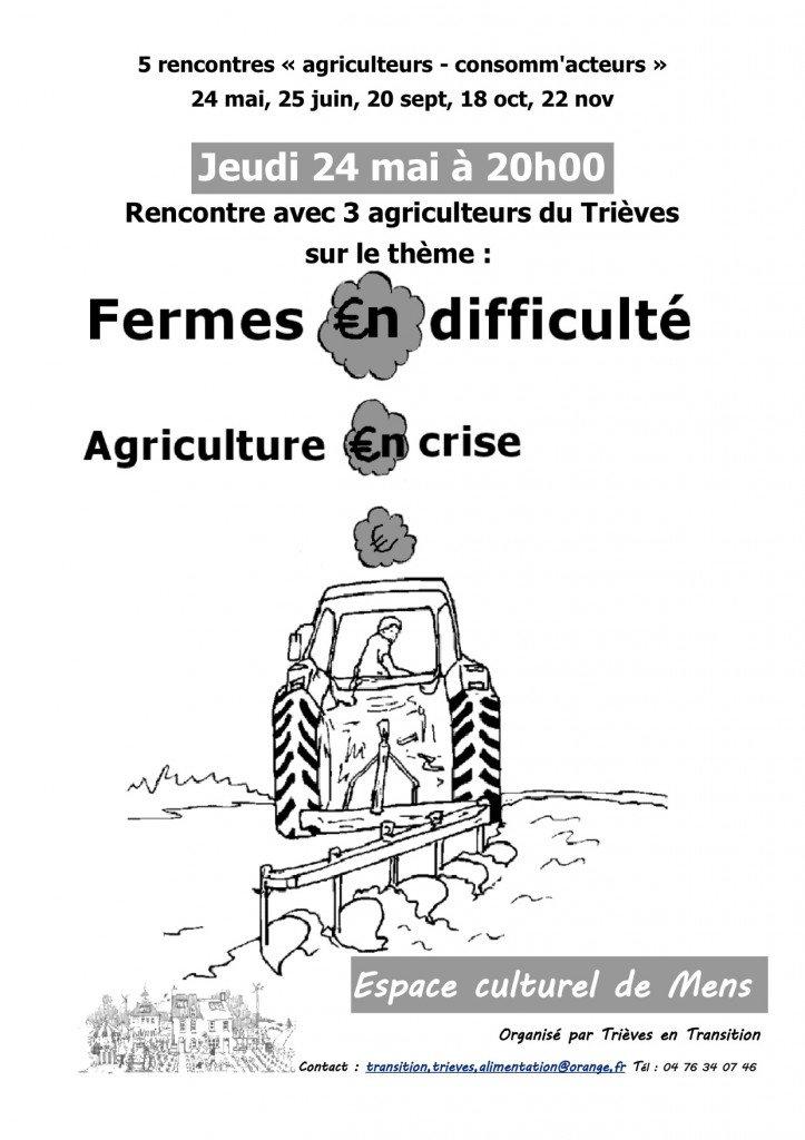 Rencontre agriculteurs-consommateurs le 24 mai dans Actualites de Trieves Apres-Petrole affiche-agri-en-crise-723x1024